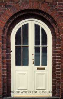Pair of arched doors