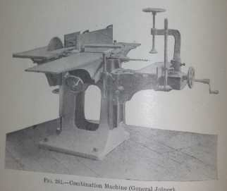 Combination machine from the early 1900's