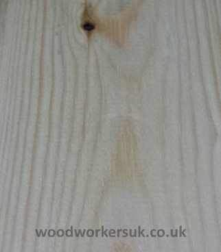 Dent in timber removed with steam iron