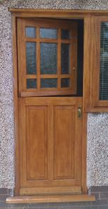 Before making any adjustments to your door, check that it is not binding on the hinges!