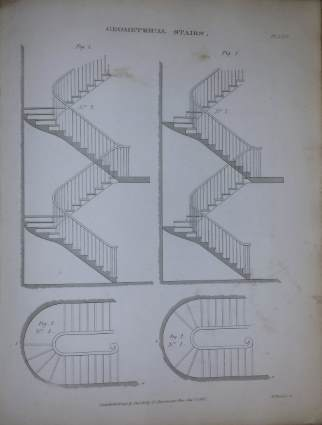 Practical carpentry & Joinery geometrical stairs
