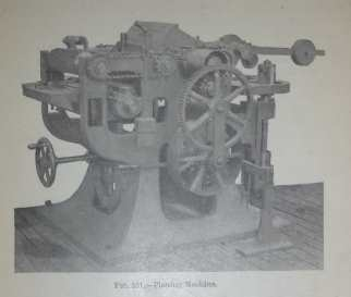 Surface planer from the early 1900s