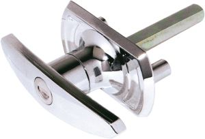T handle garage door lock