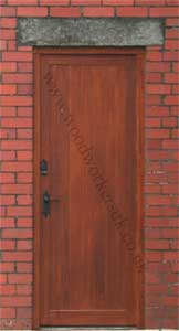 Wooden doors made to measure