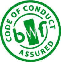 We're BWF Code of Conduct assured