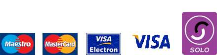 UK Credit and Debit cards accepted
