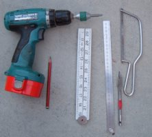 Tools required to fit a ring gate latch