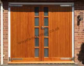 Wooden Garage Doors Hardwood Made To Measure Gate