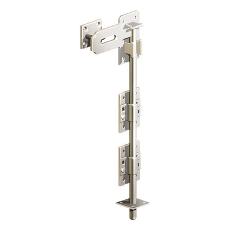 "Lockable Dropbolt - Stainless Steel 450mm/18""-0"