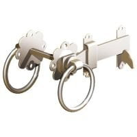 "Ring Gate Latch 150mm/6"" - Stainless Steel-0"