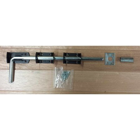 Garage Door Dropbolt - Black-0
