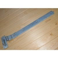 Cranked Band & Gudgeon Hinges - Galvanised (Pair)-0