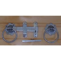"Ring Gate Latch - 150mm/6"" - Galvanised-0"
