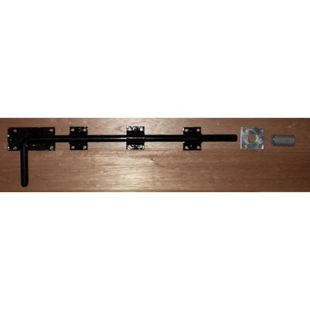 "450mm/18"" Garage Door Dropbolt - Black on Galv-0"