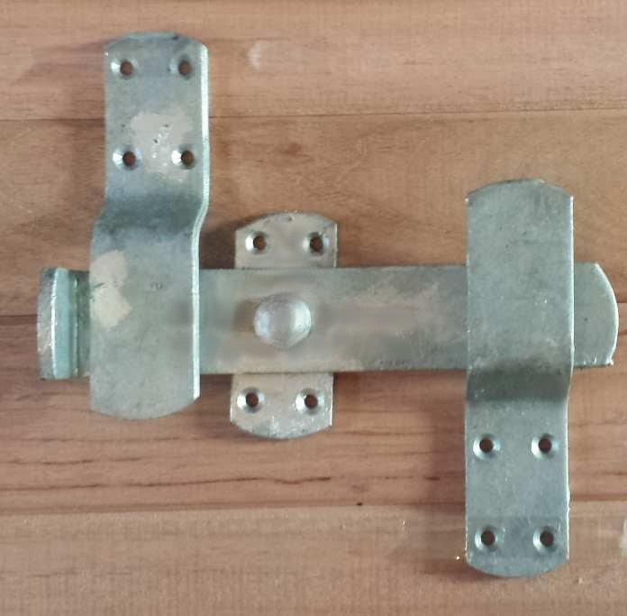 Kick Over Stable Latch - Galvanised-0