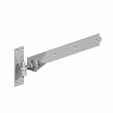 Adjustable hook and band gate hinges Galvanised