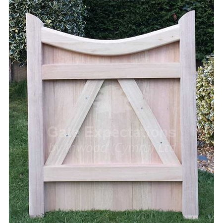 Curved Headed Gate (low centre)-1064