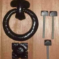 Antique Ring Door Knocker-0