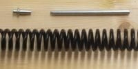 "8"" Heavy Duty Black Gate Spring-0"
