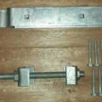 Field Gate Hinge Sets (Bottom Hinge Adjustable)-0