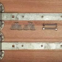 Heavy Duty Reversible Gate Hinges (Galv)-0