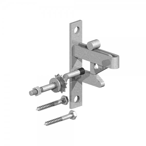Self Locking Auto Gate Catch & Striker Pin-0