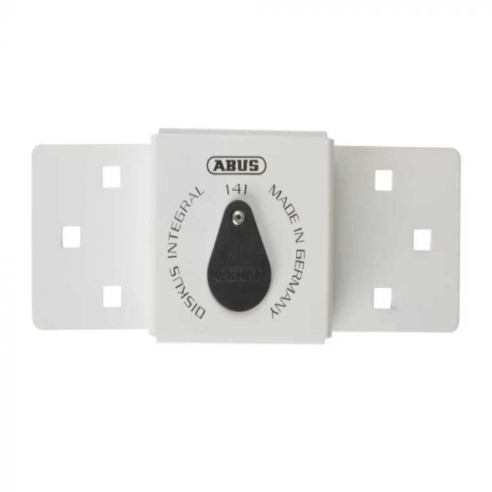 Abus Integral Van Lock White 141/200 + 26/70 with 70mm Series 26 Diskus Padlock