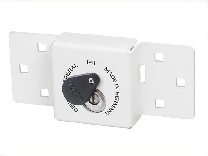Abu14126C Integral Van Lock White 141/200 + 26/70 With 70Mm Series 26 Diskus Padlock-1791