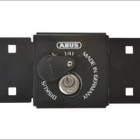 Abus Integral Van Lock Black 141/200 + 26/70 With 70Mm Series 26 Diskus Padlock-0