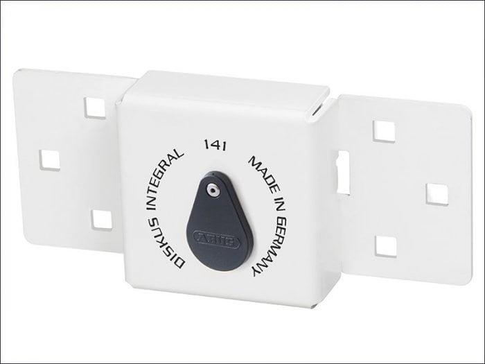 Abuvanlock Integral Van Lock White 141/200 + 23/70 With 70Mm Series 23 Diskus Padlock-0