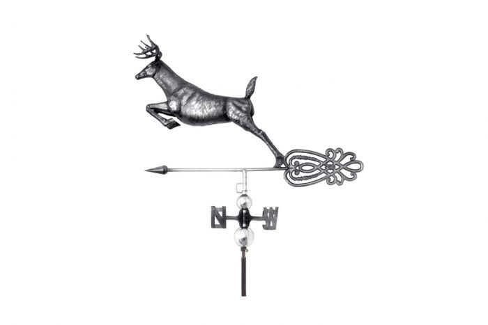 3D Deer Weathervane With Garden Stake-0