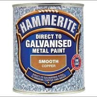 Hammerite Direct To Galvanised Metal Paint Copper 750ml-0
