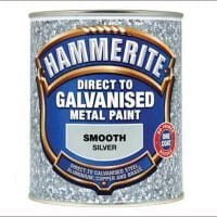 Hammerite Direct To Galvanised Metal Paint Silver 750ml-0