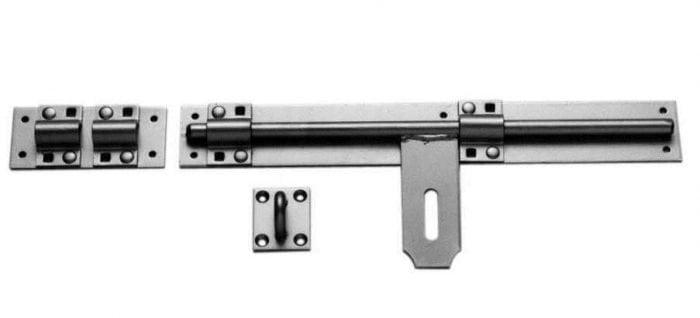 """Heavy Duty Cross Pattern Door Bolts - 12"""" /300Mm-0"""
