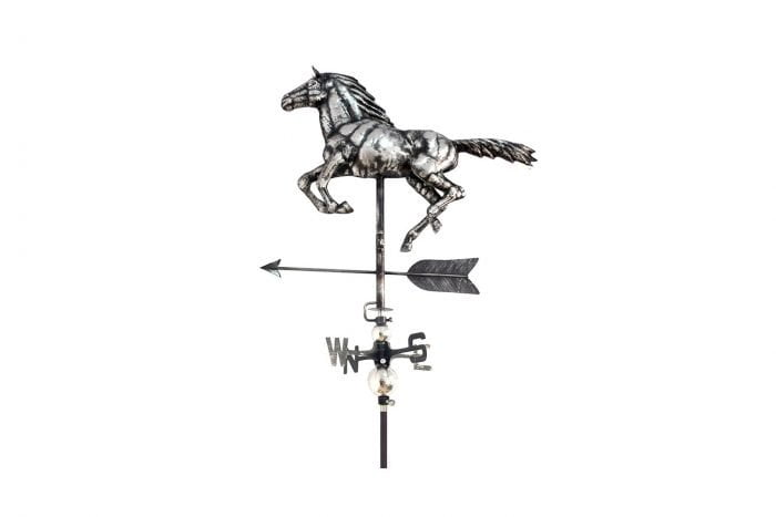 3D Horse Weathervane With Garden Stake-0