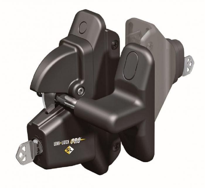 D&D Lokklatch Pro-Sl Self Locking Latch-1683