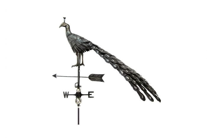 3D Peacock Weathervane With Garden Stake-1395