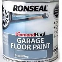 Ronseal Diamond Hard Garage Floor Paint Blue 2.5 Litre-0