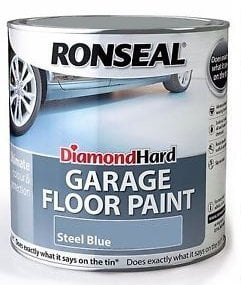 Ronseal Diamond Hard Garage Floor Paint Blue 5 Litre-0