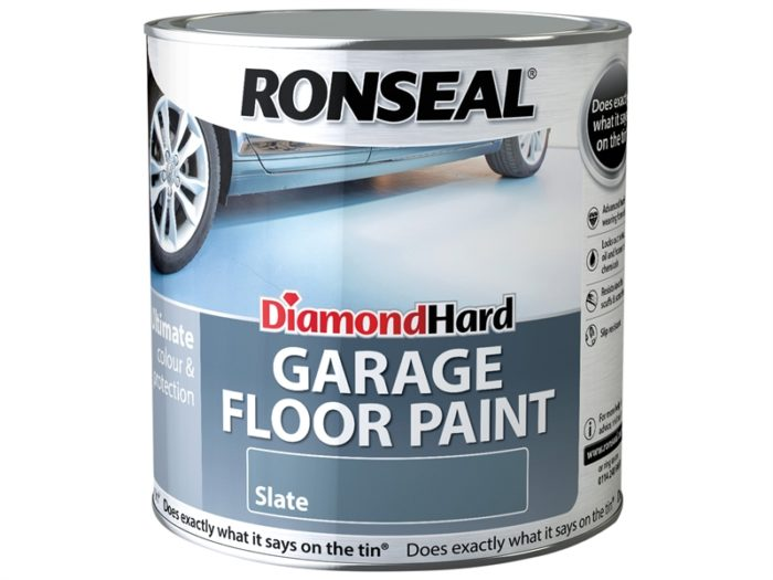 Ronseal Diamond Hard Garage Floor Paint Slate 5 Litre-1417