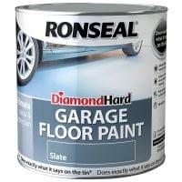 Ronseal Diamond Hard Garage Floor Paint Slate 2.5 Litre-0