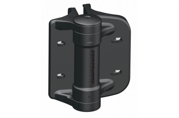 D&D Truclose Heavy Duty Hinges For Use On Different Diameter Posts-0