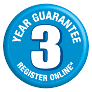 3 Year Silverline guarantee - Register online!