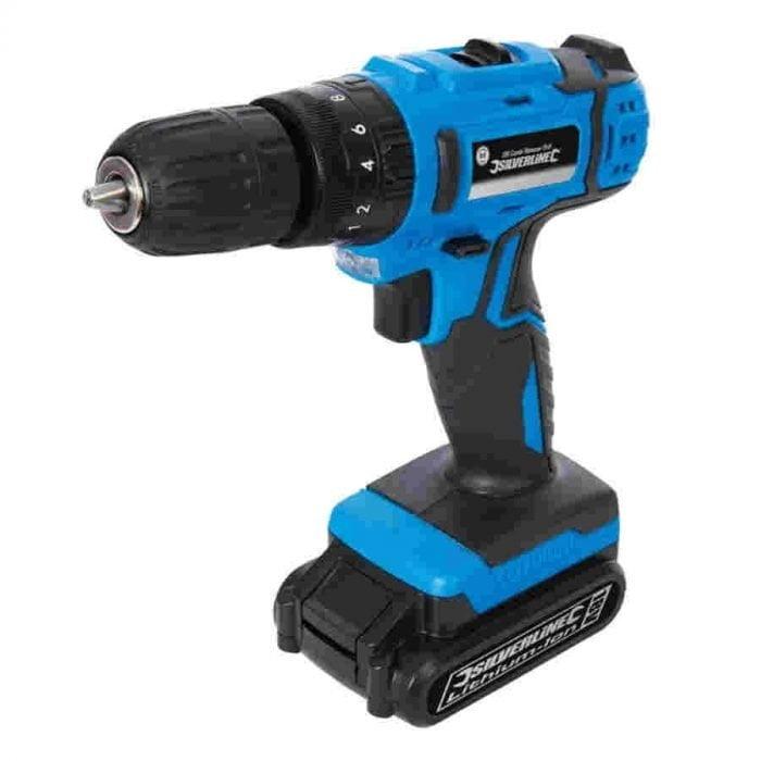 Silverline 326579 DIY 18V Drill Driver-2701