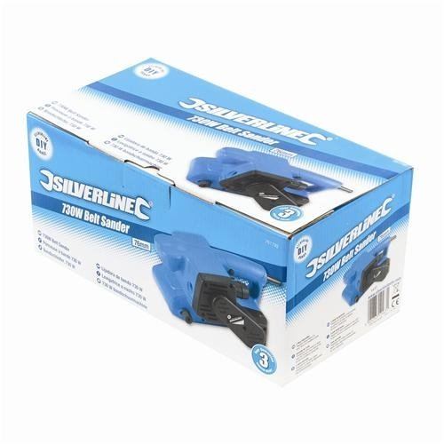 Silverline 261792 DIY 730W Belt Sander 75mm boxed