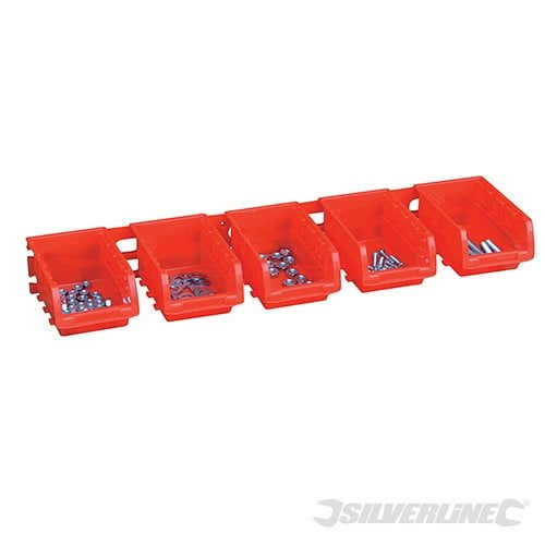 Silverline Stacking Boxes Set 8pce-2364