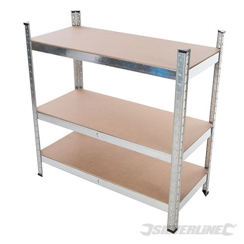 Silverline Boltless Freestanding Shelving Unit-2360