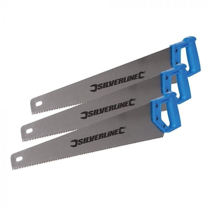 Silverline 376028 Handsaws 3 Pack