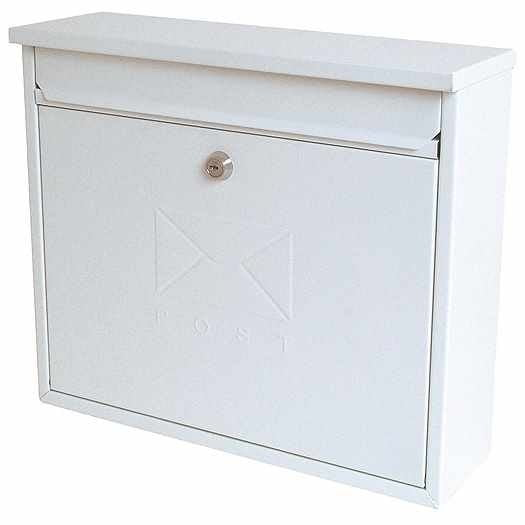 Sterling Elegance Post Box White