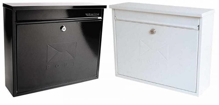 Sterling Elegance Post Boxes